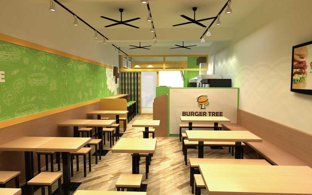 漢堡樹空間設計